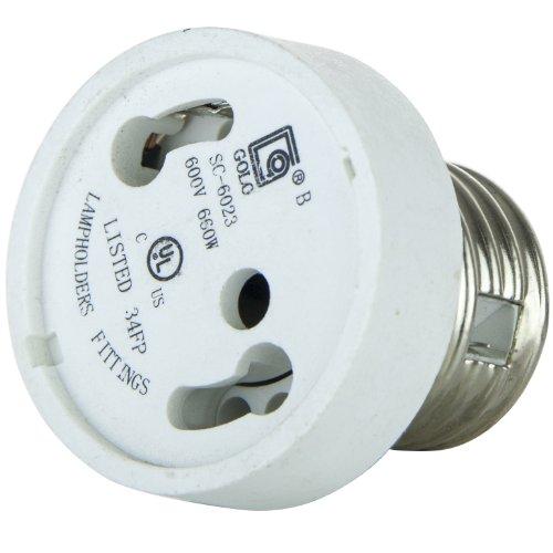 Sunlite 04051 SU E134 E26 GU24 Adapter