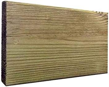Faura 2,8x12,5x400 cm. - Tarima de Madera: Amazon.es: Jardín