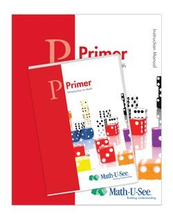 Math-U-See Primer Introduction to Math Instruction Pack