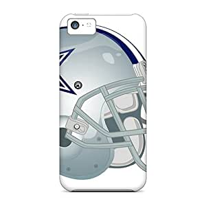 Anti-Scratch Hard Phone Covers For Iphone 5c With Unique Design High-definition Dallas Cowboys Series CristinaKlengenberg