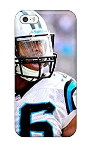 Durable Case For The Iphone 5/5s- Eco-friendly Retail Packaging(carolina Panthers )
