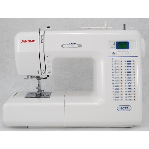 (Janome 8077 Computerized Sewing Machine with 30 Built-In Stitches )