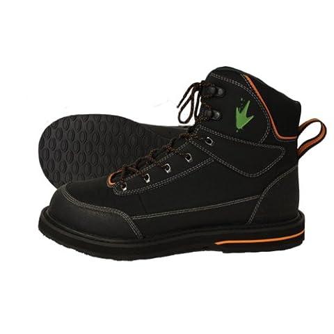 Frogg Toggs Kikker Sticky Rubber Wading Shoe, 10, Black