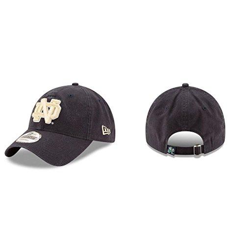 - New Era Notre Dame Fighting Irish Blue 9Twenty Core Classic Adult Hat