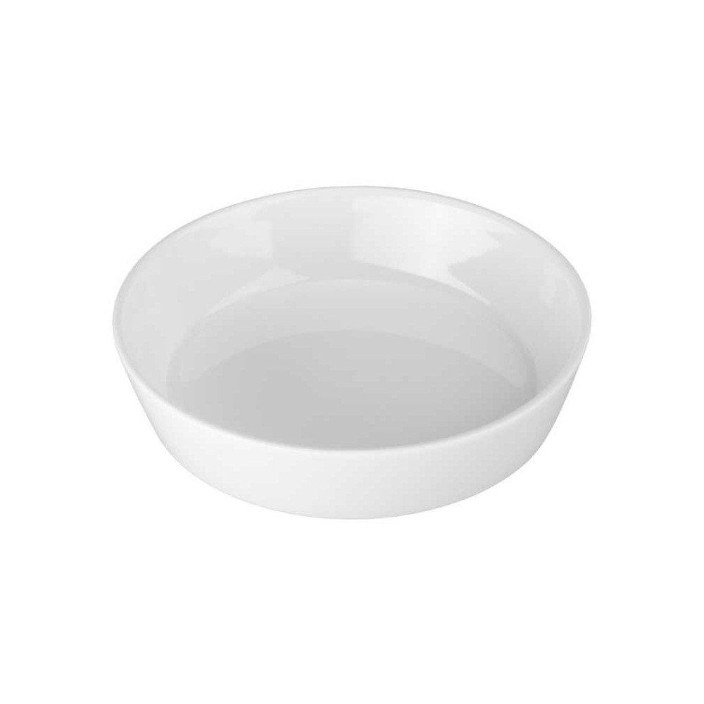 BIA White Porcelain 8 Ounce Oslo Round Quiche Baking Dish