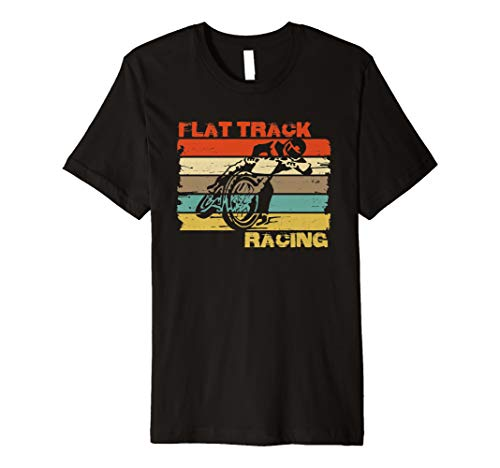 Motorcycle Flat Track Racing - Vintage FLAT TRACK MOTORCYCLE racing speedway shirt