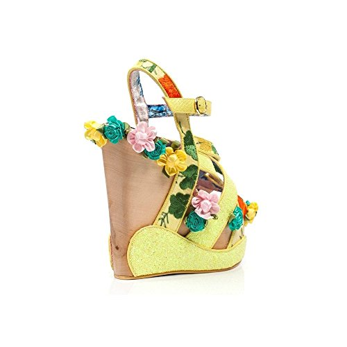 Irregular Choice Bee Kini Yellow Wedges Yellow VsOZ2mr43Z