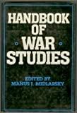 Handbook of War Studies, , 0044970552