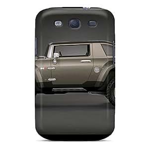 High Grade JJBaike Flexible Tpu Case For Galaxy S3 - Hummer Hx