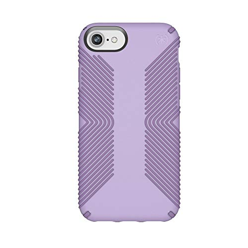 Speck Products Presidio Grip Case for iPhone 8 (Also Fits 7/6S/6), Aster Purple/Heliotrope Purple ()