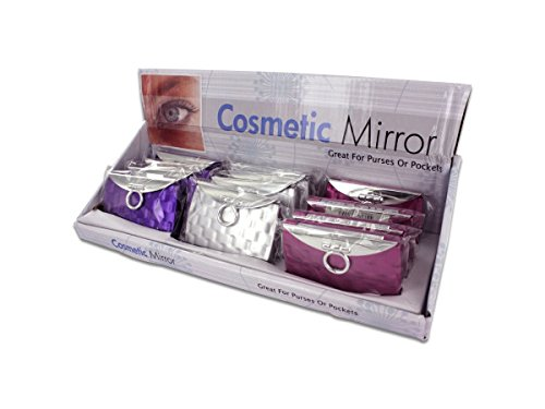 StarSun Depot Wholesale Purse Design Compact Display - Set of 24, [Cosmetics, Cosmetic Mirrors] by StarSun Depot
