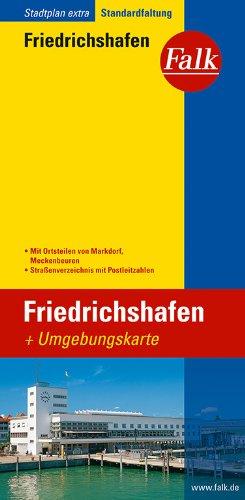 Falk Stadtplan Extra Standardfaltung Friedrichshafen