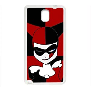 Black and red joker Cell Phone Case for Samsung Galaxy Note3