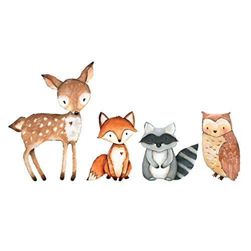 Woodland Creatures Laptop Decal Collection by Wilson Graphics Wall Decals