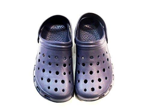 DEMA pantofole ciabatte unisex in GOMMA mod. CROCS BLU