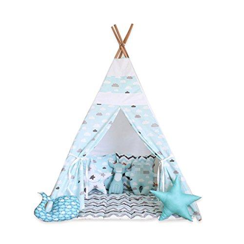 ペンス目に見える港ZYH 装飾テント、子供の屋内のゲームハウス赤ちゃんのゲームハウス小フレッシュスタイルの子供の写真の小道具110 * 110 * 160CM 広いスペース