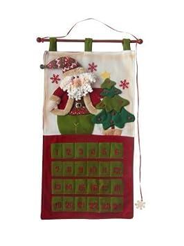 Calendrier De Lavent Noël 77cm Tissu Réutilisable Amazonfr