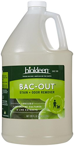 BioKleen Bac-Out Stain & Odor Remover-128 oz.
