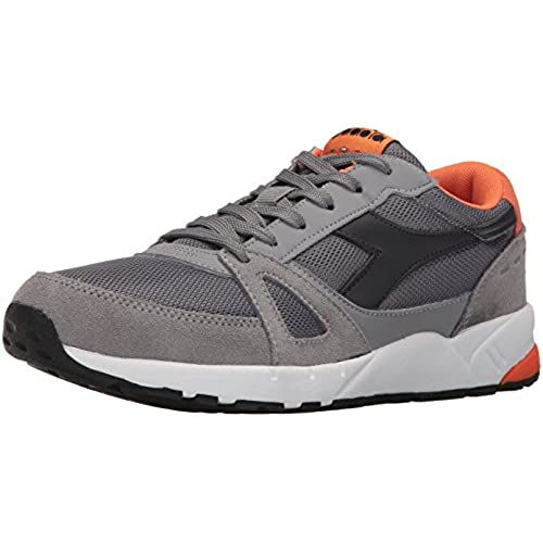 Diadora Men's Running 90 Skateboarding Shoe, Ice Gray, 9.5 M US