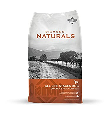 Diamond Naturals All Life Stages Real Meat Recipe Dry Dog Food With Premium Ingredients And Real Cage Free Chicken 40Lb by Diamond Pet Foods, Inc.