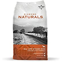 Diamond Naturals All Life Stages Real Meat Recipe Natural Dry Dog Food with Real Cage Free Chicken 40lb