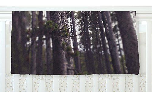 KESS InHouse Leah Flores ''Woods'' Forest Fleece Baby Blanket, 40'' x 30''