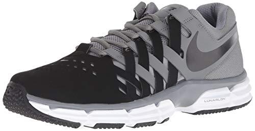 Nike Men's Lunar Fingertrap Trainer Cross, Cool Grey/Black, 12.5 Regular - One Training Shoe Cross