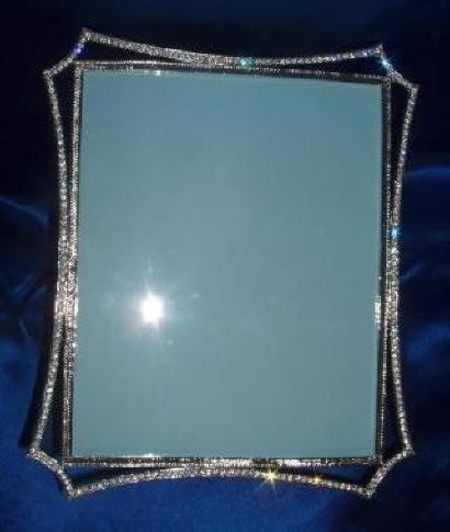 Amazon.com - Simply Stunning Crystal Rhinestone Picture Frame 8 x 10 ...