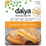Daiya Cheddar Style Cheese Slices, 7.8 Ounce -- 8 per case.