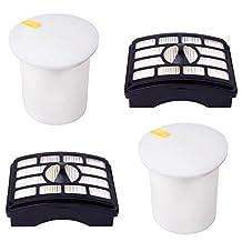 I-clean® 2 set Replacement HEPA Post Filter & Foam Filter Kit for Shark Rotator Pro Lift-Away NV500 Series NV500 NV501 NV505 NV552 #XFF500 & #XHF500 Filter