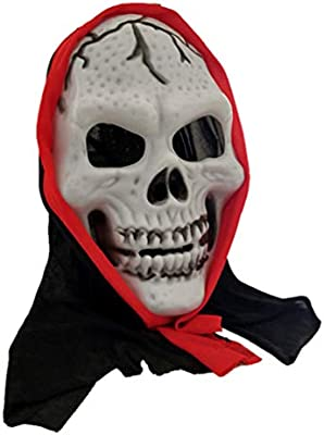 Garneck 2 piezas máscaras de halloween máscaras de esqueleto ...