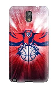 atlanta hawks nba basketball (9) NBA Sports & Colleges colorful Note 3 cases