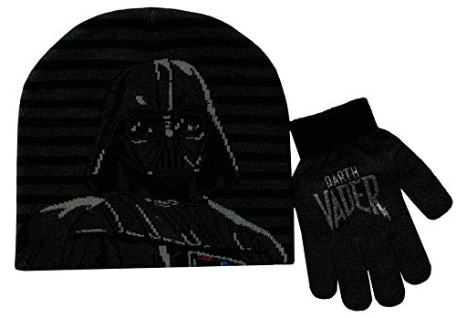Star Wars Darth Vader Winter Hat and Glove
