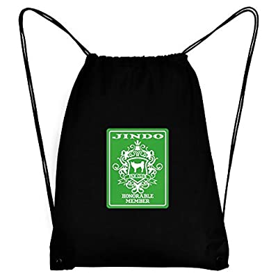 best Teeburon Jindo Fan Club Honorable Member Sport Bag