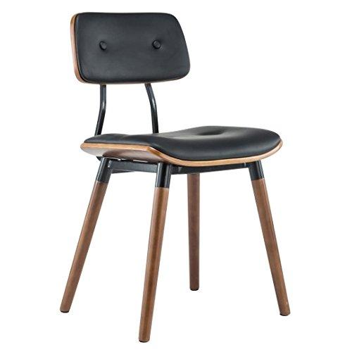 Porthos Home Jaid Dining Chair (Set of 2), Black