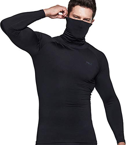 TSLA 1 or 2 Pack Men's Thermal Long Sleeve