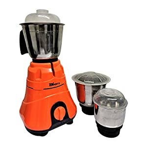 MAYUMI MW-MWBAJ750 750 kW Mixer Grinder with 3 Jars, Orange