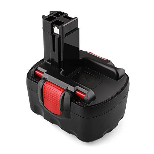 Odec 14,4V Bosch Ersatz-Akku, 3000mAh Ni-MH Werkzeugakku für Bosch BAT038 BAT040 BAT041 BAT140 BAT159 2607335685 2607335533 2607335534 2607335711