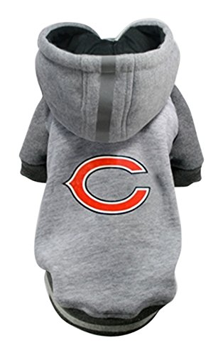 Hip Doggie NFL Bears Pet Hoodie, Medium