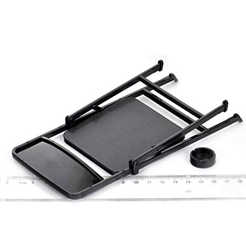 Warmtree 1//6 Scale Black Foldable Chair for 12 Action Figure Accessories Dollhouse Decoration Miniature Furniture Toys