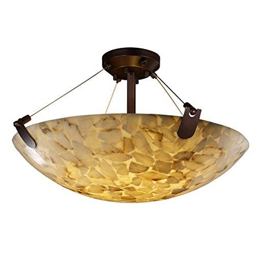 Justice Design Group Lighting ALR-9612-35-DBRZ-LED5-5000 U-Clips 27