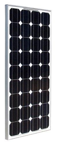 Ramsond 100 Watt 100w W Monocrystalline Photovoltaic PV Solar Panel Module 12V Battery Charging