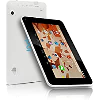 Indigi® Android 4.2 Tablet PC 7in Dual Core HDMI Leather Black Back >FREE 32GB microSD<