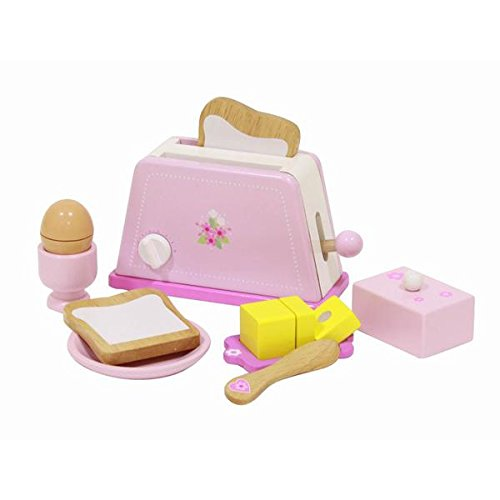 MENTARI Wooden Toaster Set Model Kit - Learn and Play - e...