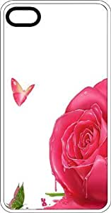 Melting Rose Clear Hard Case For Ipod Touch 4 Cover