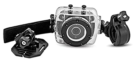 Amazoncom Sharper Image Svc355 Hd Action Camera With Waterproof