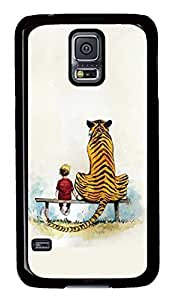 The Young And The Tiger PC Black Hard Case Cover Skin For Samsung Galaxy S5 I9600