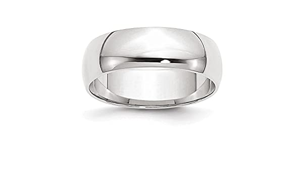 Jewelry Adviser Rings 10KY 5mm LTW Flat Band Size 12