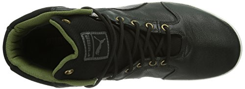 Puma Stivali Tatau Mid L GTX®, Uomo Nero (Black-burnt Olive-dark Shadow-bronze-white)
