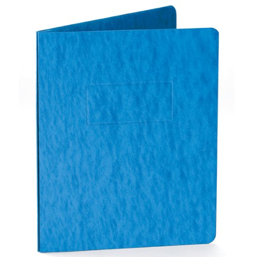 Oxford Pressboard Report Covers With Scored Side Hinge, 5 Pack, Letter, Blue (99401EE)